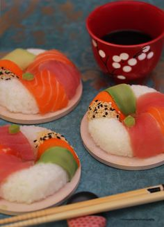 Sushi Donuts by theresahelmer on DeviantArt