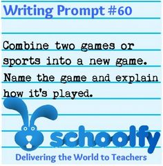Creative writing games high school