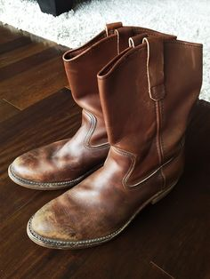 Red Clay Soul: Red Wing Pecos Red Wing Pecos, Red Wing Shoes, Motorcycle Boots, Engineers, Get Dressed, Fashion Boots, Runners, Cowboy Boots, Shoe Boots