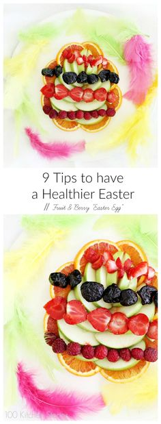 "100 Kitchen stories: 9 Tips for a Healthier Easter. // Fruit and Berry ""Easter Egg""  @psuonvieri"