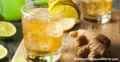 Homemade ginger ale has been used for hundreds of years to reduce pain, inflammation, reduce blood pressure and prevent heart disease.