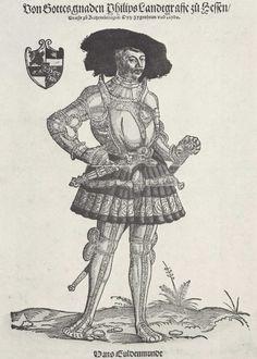 Artist: Schoen, Erhard, Title: Porträt des Landgrafen Philip von Hessen [2], Date: 1st half of the 16th century