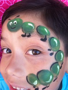 face paint with pouncers for boy and girls (unisex)