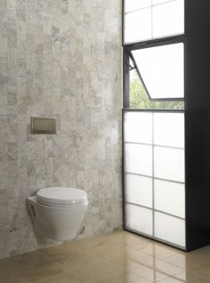 This sleek and modern wall-hung toilet offers an elongated bowl and skirted design, along with our powerful Dual-Max flushing system. This wall-hung toilet saves valuable space in smaller bathrooms. Optional SoftClose seat. Universal Height.