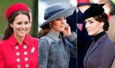 Kate Middleton's most stylish hats to date #KateMiddleton #Hats #Headwear