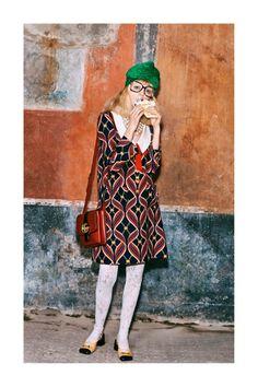 Gucci Pre-Fall 2019 Fashion Show Collection: See the complete Gucci Pre-Fall 2019 collection. Look 83 Cl Fashion, Gucci Fashion, Runway Fashion, Trendy Fashion, Fashion Models, Autumn Fashion, Fashion Design, Cheap Fashion, Spring Fashion