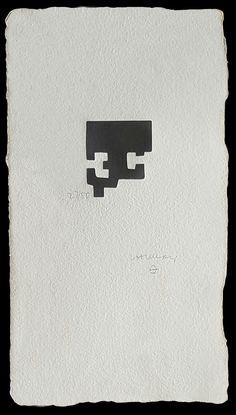 """Eduardo Chillida """"Goiti"""" Grabado Xilográfico Año: 1983 Dimensiones: 28 x 16 cm Tirada de 50 ejemplares Firmado y numerado a mano Enmarcado Van der Koelen 83015 Precio: Consultar web Más información:  galeria@grabadosylitografias.com"""