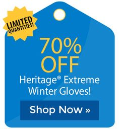 70% off Heritage� Extreme Winter Gloves! Winter Gloves, Cyber Monday Sales, Holiday Deals, Black Friday Deals