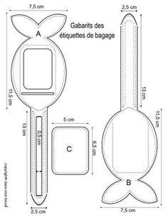 etiquette bagage tuto