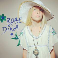 Sublime robe Dina pour enfant ! #ninakaufmannofficial #bohostyle #fashion #enfants #robedina #gyspy ! Shop now on www.ninakaufmann.com