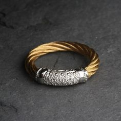 Pre-owned Charriol Diamond Ring