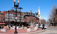 Harvard Square, Cambridge, MA