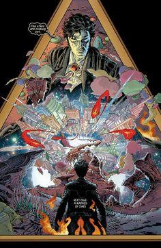 Sandman Overture #3 interior art by J.H. Williams III *
