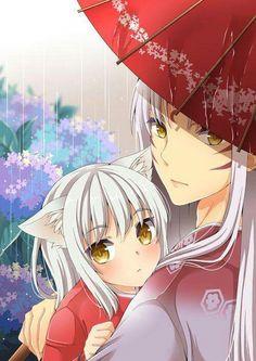 Inuyasha y sesshomaru.this is tooo cute. Amor Inuyasha, Inuyasha Fan Art, Inuyasha And Sesshomaru, Kagome And Inuyasha, Kagome Higurashi, Inuyasha Funny, Inuyasha Memes, Otaku Anime, M Anime
