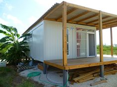 shipping container homes   ... Homes: Criens, Trimo - Bonaire, Caribbean - Shipping Container Home