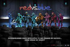 red vs blue - :)