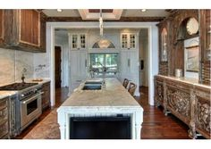 This room is more like a work of art than a kitchen! Amelia Island, FL $4,800,000