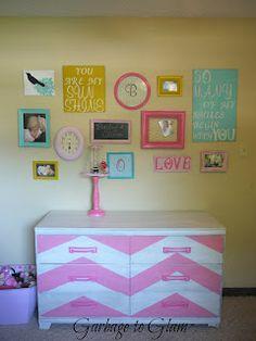 Garbage to Glam: Dresser and Bedroom Makeover