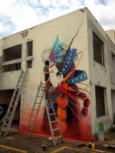 Mexico City based street artist Curiot recently participated in...