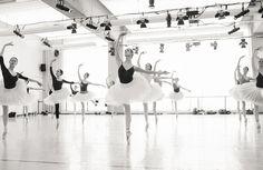 Artists of the Ballet in rehearsal for The Sleeping Beauty. Photo by Karolina Kuras.
