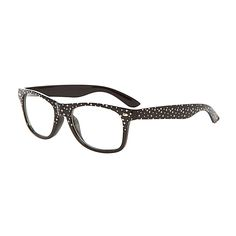 f8adc48950 Get the superstar look with these clear lens star print fake glasses.  Perfect for fancy