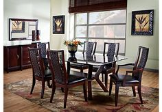 Shop for a Fontana 5 Pc Dining Room at Rooms To Go. Find Dining Room Sets that will look great in your home and complement the rest of your furniture.