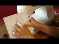 Learn how to paper piece (also called foundation piecing) with this quilting tutorial and free pattern from www.YouCanMakeThis.com and www.YouCanQuiltThis.com. Download the pattern and step-by-step instructions at either website.