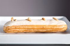 Ever since Toronto bakery Nugateau opened, artisanal éclairs are having a moment.As if fresh off the boat from France, the flavor-packed pastriesare luxuriously light andcreamy, and come in flavors like Lemon Meringue, Salted Carameland Persian Pistachio.Best of all, they're not as complicated to make as they look. We're sharingNugateau's famousTahitian Vanilla Éclair recipe, just in …