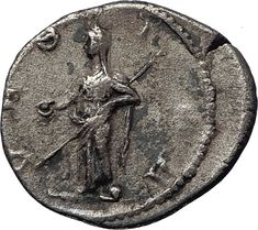 Julia Mamaea -Augusta : A. Julia Avita Mamaea or 29 August after was the second daughter of Julia Maesa, a powerful Roman woman of Syrian Arab origin and Syrian noble Julius Avitus. Gold Coins, Rome, Investing, Rare Coins, Coin Collecting, Seals, Silver, Feminine, Rings