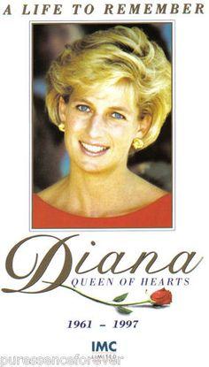 Princess Diana - July 1, 1961 to August 31, 1997 - car crash