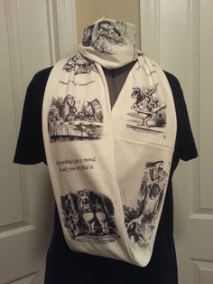 Hey, I found this really awesome Etsy listing at https://www.etsy.com/listing/174105287/alice-in-wonderland-infinity-knit-scarf