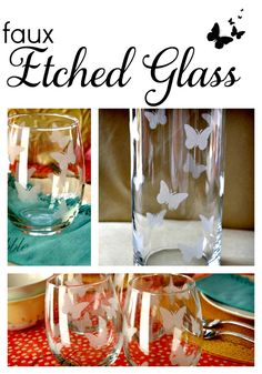Faux Etched Glass #showmetheshine #ad