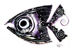 Year 8, Fish Design, Fish Art, Oceans, Seaside, Class Ring, Japan, Artists, Inspired