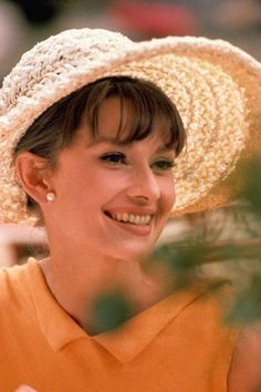 "Audrey during the filming of ""Paris When it Sizzles""  (1962)"