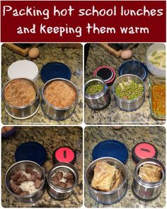 Packing hot school lunches and keeping them warm. Neat DIY ideas for lunches (es… Packing hot school lunches and keeping them warm. Neat DIY ideas for lunches (especially when you get tired of sandwiches! Back To School Lunch Ideas, Kids Lunch For School, Lunch To Go, School Snacks, School School, Lunch Time, Cold Lunch Ideas For Kids, Packing School Lunches, Cold Lunches