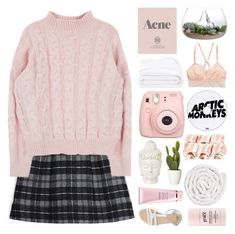 """Blush - February"" by lucidmoon ❤ liked on Polyvore featuring Thakoon Addition, Prada, Frette, American Eagle Outfitters, ASOS, By Terry, philosophy, VIPP, women's clothing and women"
