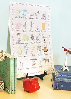 Forget someday!  I need to make something like this for my French class in two weeks!