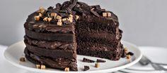 Naked cake - K-ruoka Naked Cake Image, Favim, Weeknight Meals, Chocolate Cake, Tiramisu, Good Food, Food And Drink, Sweets, Snacks