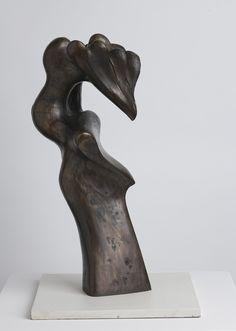 """Hybrid Form"", 1973, Richard Hunt, American (b. 1935), bronze, 19 x 7 1/2 x 8 in. Gift of Ronald Mayne, 1979. 1979.2673.a"