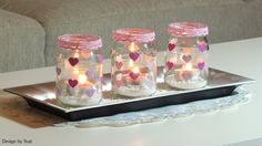 Design by Suzi Be My Valentine, Lanterns, Candle Holders, Table Lamp, Decorations, Candles, Heart, Design, Home Decor