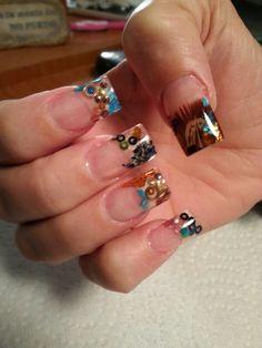 Encapsulated nails....