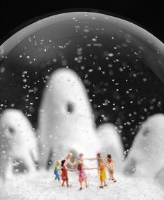snow globe :)