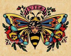 Beeeeee Tattoo backwards beekeeping society http://www.backwardsbeekeepers.com/