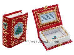 Bead Pattern: Santas Secret Book Ornamen