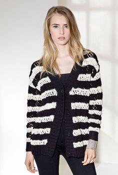 Lana Grossa JACKE Cotton Style/Only Cotton - FILATI COLLEZIONE No. 2 - Modell 5 | FILATI.cc WebShop