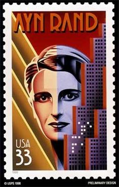 "Writer, Idealist and Visionary: Wrote "" Atlas Shrugged"" & ""The Fountainhead"".  A woman ahead of her times."