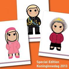 Royal family - Special edition koninginnedag 2013