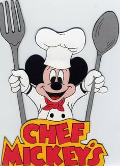 Disney's Chef Mickey   True Paper Piecing     Free by xpod11