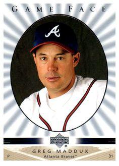 2003 Upper Deck Greg Maddux Game Face Atlanta Braves
