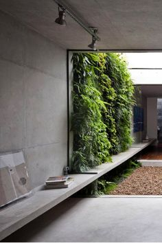 50 Green wall Design Inspiration is a part of our collection for design inspiration series.Green wall Design Inspiration is an inspirational series Exterior Design, Interior And Exterior, Interior Garden, Wall Exterior, Landscape Design, Garden Design, Courtyard Design, Contemporary Landscape, Contemporary Furniture